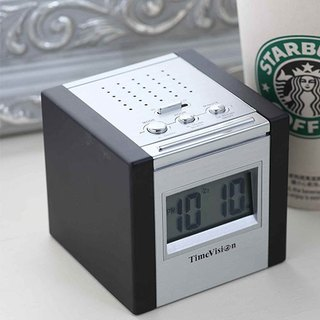 [Time Vision] square electronic alarm clock