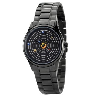 Solar System Watch Solid Stainless Steel Band