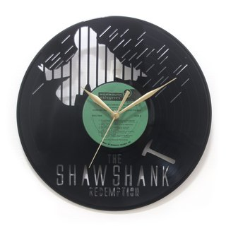 Shawshank Redemption [The Shawshank Redemption] Vinyl Clock