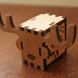 KOKOMU KOKOMU Deer DIY Music Box Kits. Wooden Music Box