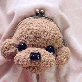 Handmade pet -12cm VIP mouth gold bag