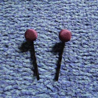 (C) _ sexy body purple cloth buttons small hairpin C20ASZ12