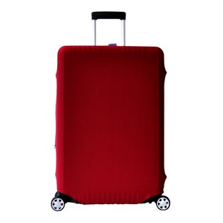 Travel elastic box sets | wine red solid models [S, M, L, XL]