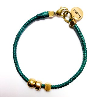Midsummer serenade. Simple Series ◆ Sugar Nok ◆ Wax Brass bracelet