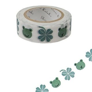 Shinzi Katoh Kato Shinji Illustration Paper Tape (Clover and Frog KS-MT-10020)
