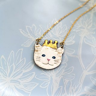 Golden Crown Cat Cat Long Chain - Winter Limited