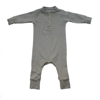 [Nordic children's clothing] Iceland organic cotton long-sleeved bag fart jumpsuit _ Mi Yueli