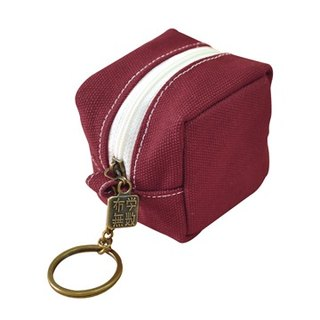 purely. Eat tofu - Purse Wallets [dark maroon]
