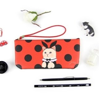 Jetoy, Choo choo cat sweet vanilla carry bag _Red bunny (J1504705)