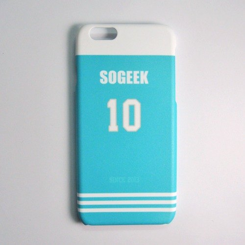 SO GEEK phone shell design brand THE JERSEY GEEK jersey back number Customized paragraph 036
