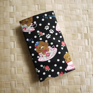 [Katie. C Katie. heart. Hand strap infants living] special waterproof bibs / saliva cloth / cotton antifouling pad Taiwan = = = black dog mug