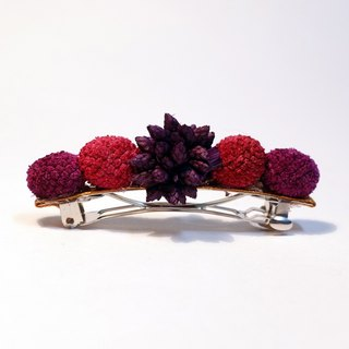 Forest berries scent hair clip classic purple berries
