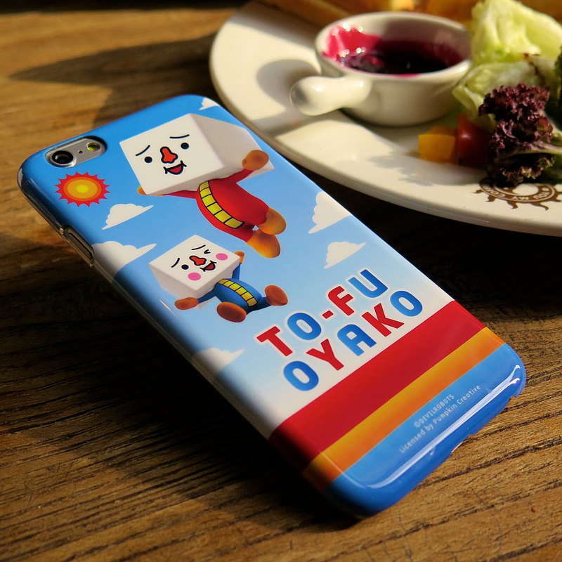 iPhone 6s/6p TOFU cartoon ultra-thin body, double-sided printing, phone case, phone case