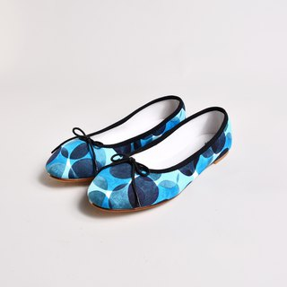 Original price 3980 yuan limited time price of 1980 yuan doll shoes - KATE Pupu wind blue
