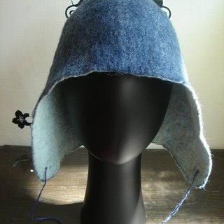 Wool felt hat ear tip cover