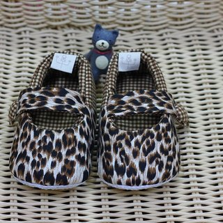Coffee Leopard Leopard toddler shoes