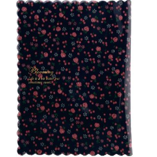 [Japanese] Frill LABCLIP series Book cover Book Cover (Small) dark blue