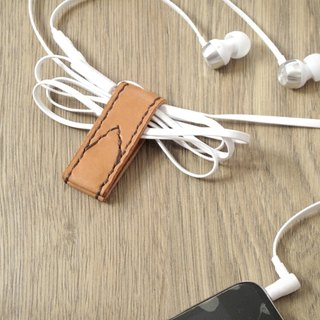 Close (folder) the iPhone headphone cable case of hand-stitched bookmarks evolution x
