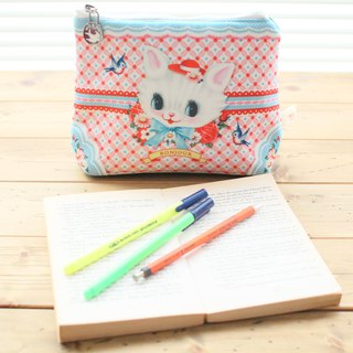 British Wu & Wu Kitty Cosmetic Bag Storage Bag Pencil Case