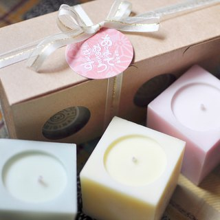Xmas Herb essential oil soy candle (3 pieces)
