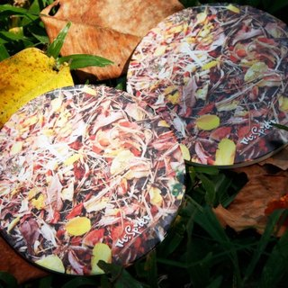 Nature says season. Autumn absorbent coasters