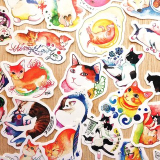 Shiba Inu and his friend stickers II (35pic)