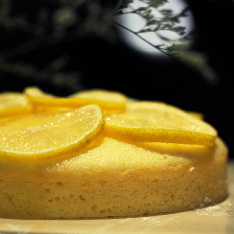 Lemon Tears 6 Inches Lemon Pound Cake Handmade Dessert Birthday