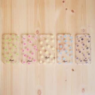 Colorful Dots iPhone Case for 5/ 5s (5 colors)