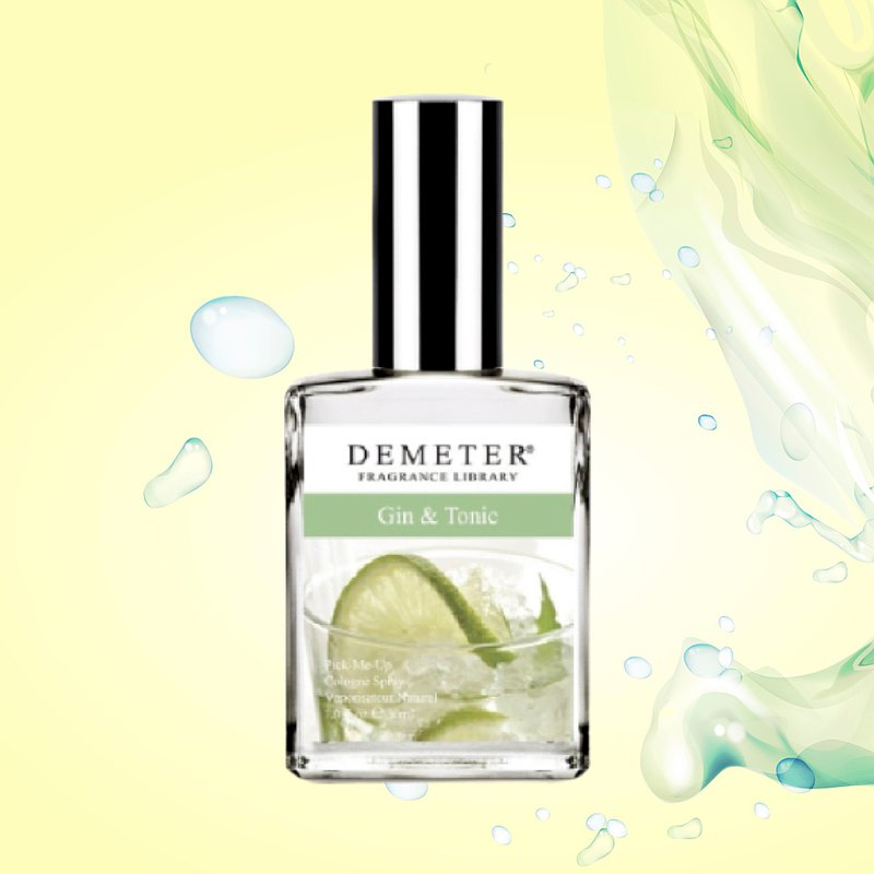 【Demeter Scent Library Qinin Gin & Tonic situation perfume 30ml