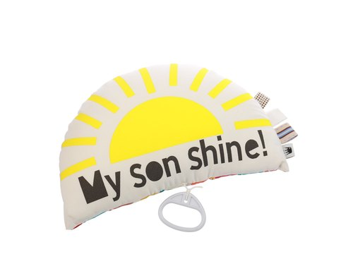 ★ gift preferred ★ sun ♫ music pillow ♫ My Son Shine Musical Cushion