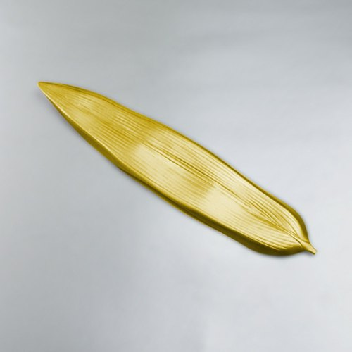 [Japanese] Shinko designer collections - the role of Leaf chopsticks rack / dish rack (Gold Leaf)