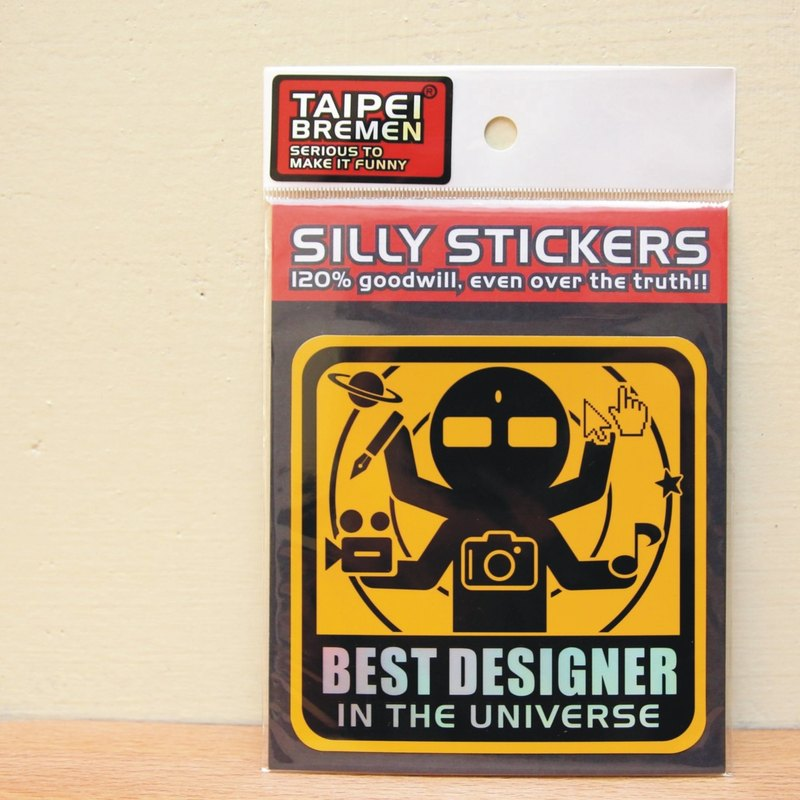 """Taipei Bremen"" spoof stickers Mickey eel - the best designer of the universe"