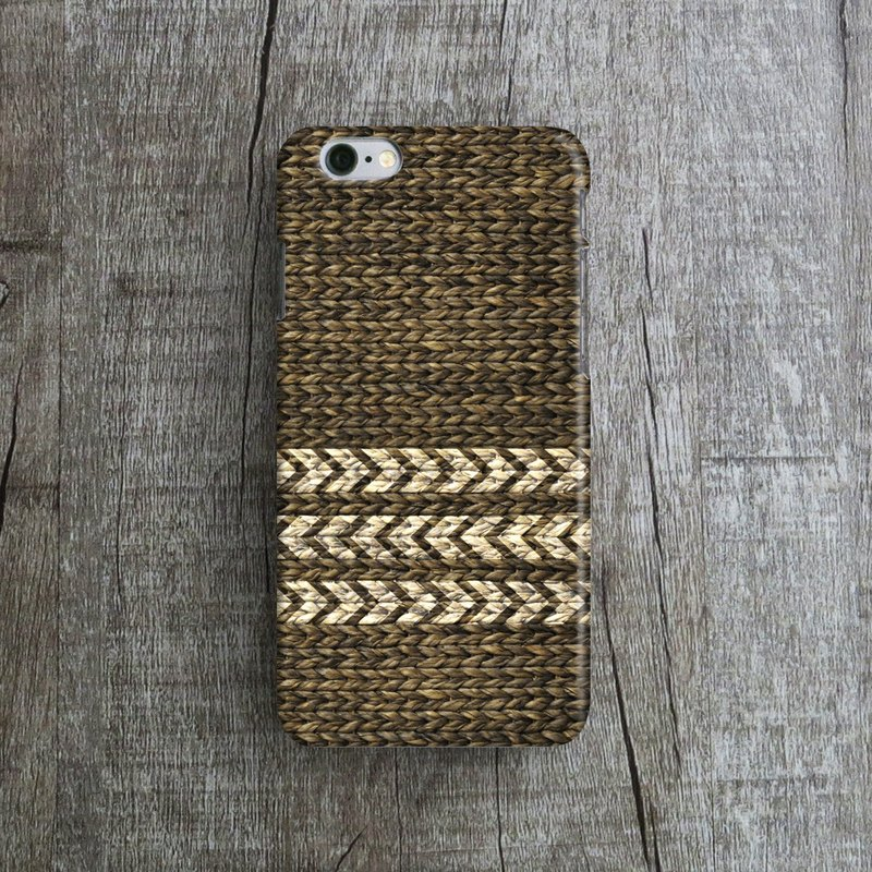 Rattan - Designer iPhone Case. Pattern iPhone Case. One Little Forest