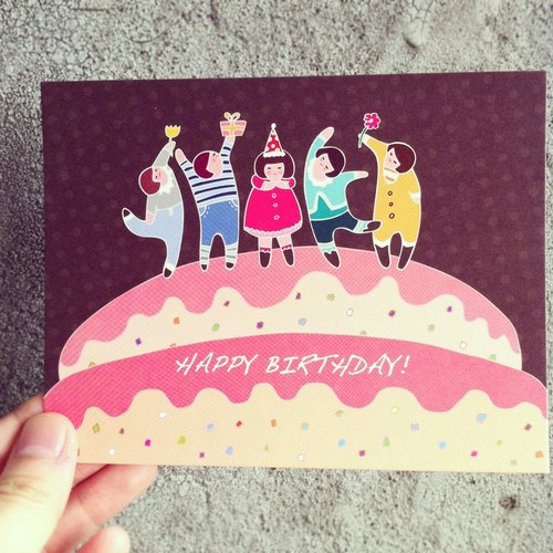 《KerKerland》Happy Birthday☉postcard
