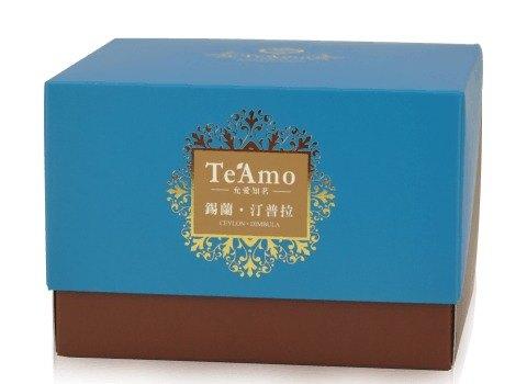 【Te'Amo 紅茶專賣店】茶包盒系列 - 錫蘭‧汀普拉 Dimbula (20入)