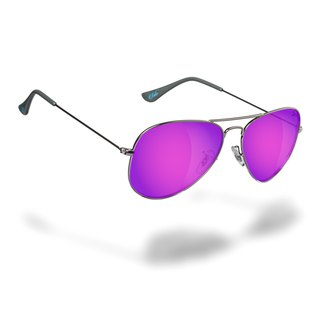 SOLA - Purple Revo Polarizied Sunglasses