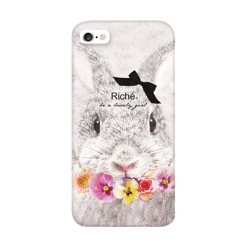 Wreath sari rabbit rabbit princess phone shell