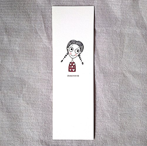 Small Bookmark -006