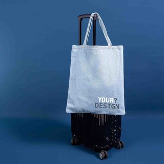 [Customized Gift] Text/Design Tannin Shoulder Bag - Your Own Bag
