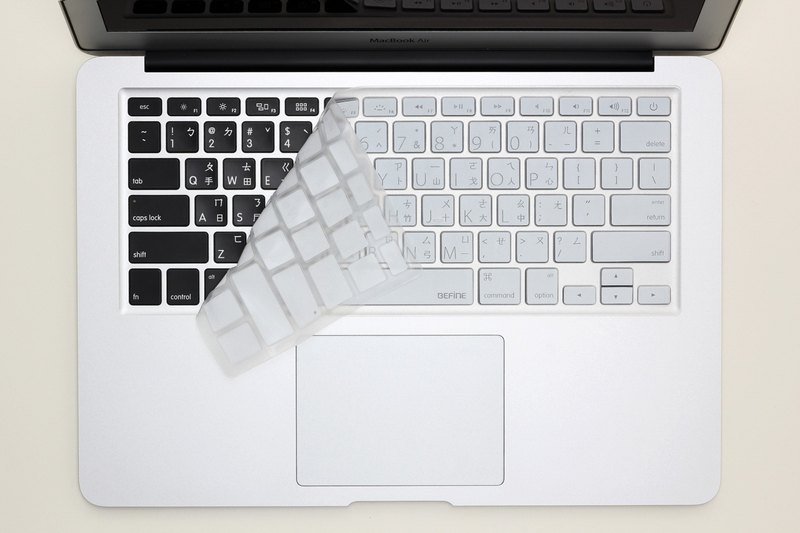 BEFINE Apple MacBook Air 13 special keyboard protective film (KUSO Chinese Lion Edition) Black on white (8809305222498)