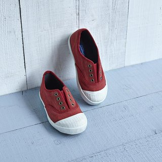 FREE children's shoes / Kyoto red / canvas shoes / lazy shoes / casual shoes / JAP19.0