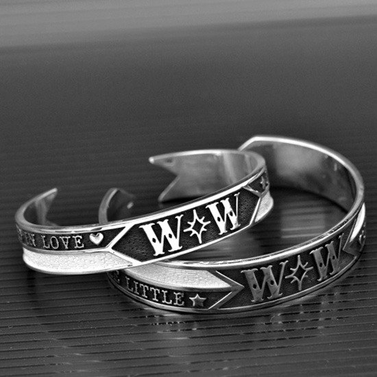 Customized .925 sterling silver bracelet jewelry NB00034- name