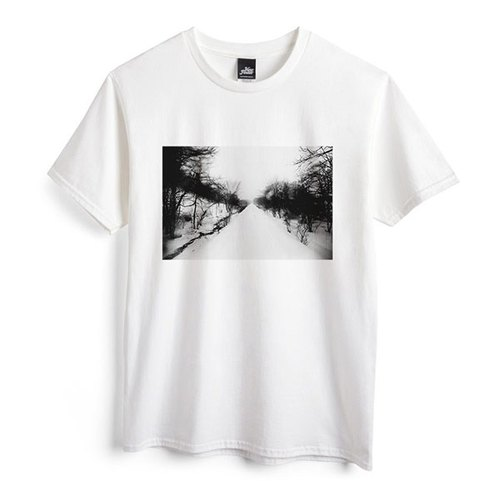 Path - White - Unisex T-Shirt