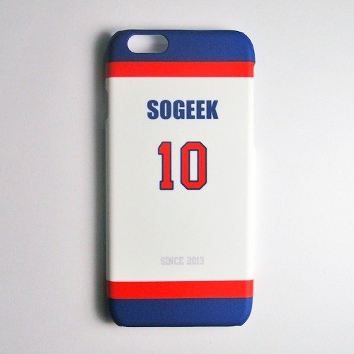 SO GEEK phone shell design brand THE JERSEY GEEK jersey back number Customized paragraph 030