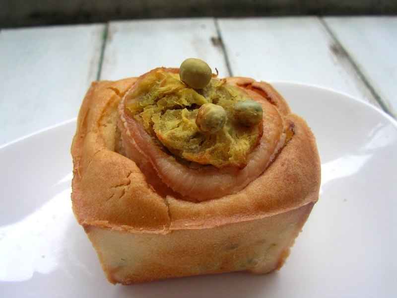 【Sweet Potato Stewed Chicken】 2-inch French Dog Cup Cake