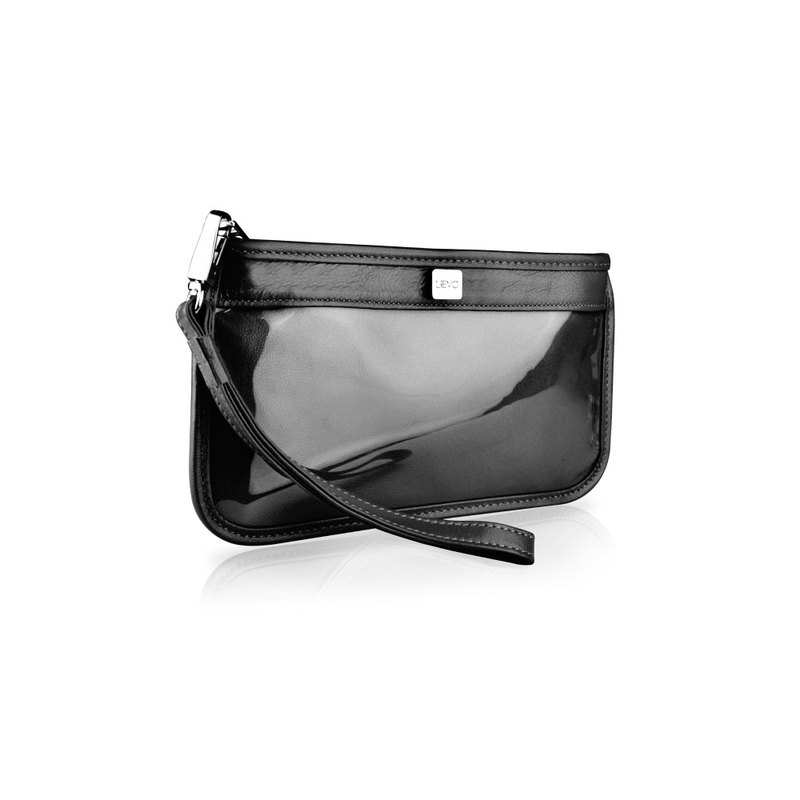 [LIEVO] TOUCH - Smartphone Leather Clutch _ Black