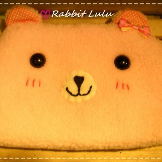 RABBIT LULU [blazing] Cosmetic Pouch Pencil creative market Hands