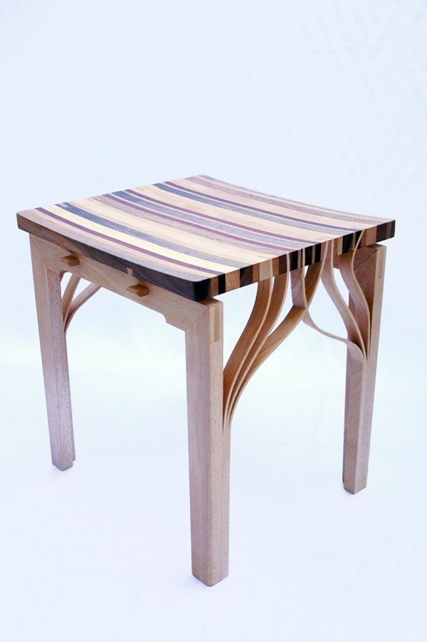 Vincenzo wood sen zuo mu / Rainbow Forest (Chair)