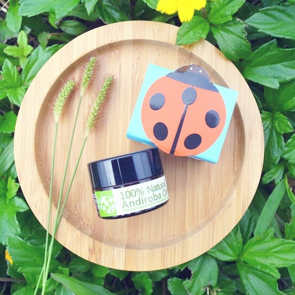 [Garden Garden Green Plus] Andi 小安第系列小安第・罗巴Herbal Repair Cream (Fresh Grass Green) (Little ladybug)