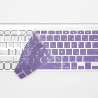 English BEFINE dedicated wireless keyboard protective film -Wireless KB special edition white on purple Lion (8809305221361)
